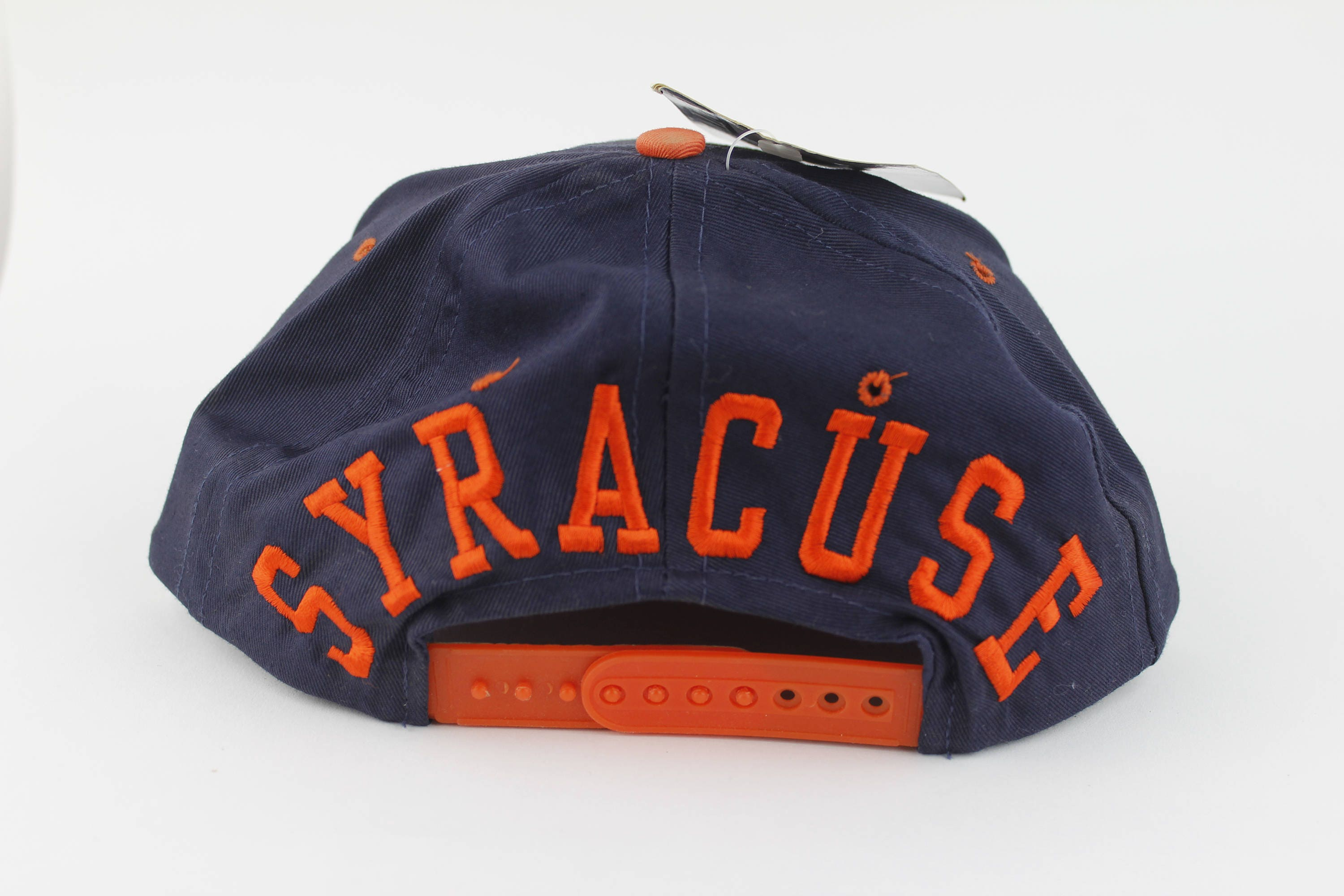 new style 61014 c4f79 ... coupon code for brand new with tags vintage 90s syracuse university  snap back hat dead stock
