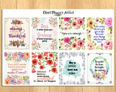 Motivational & Inspirational Quotes Planner Stickers (MS-014)