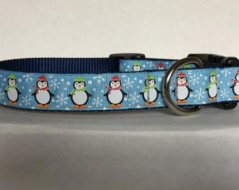 Glitter Snowflake Penguin Collar