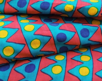 Apparel Fabric Material Cotton Fabric For Sewing Designer Multicolor Pure Cotton Sew Fabric Geometric Print Pillow Cover By The Yard ZBC6620