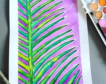 Palm Tree Pen Etsy