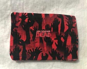 The Walking Dead catnip mat