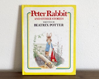 Peter Rabbit And Other Stories By Beatrix Potter; Vintage Children's Book; Beatrix Potter; Bedtime Stories; Benjamin Bunny; Vintage Book