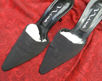Black shoes, womens shoes, vinatge shoes, womens heels, dressy shoes