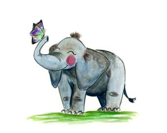 Illustration Elephant (various sizes)