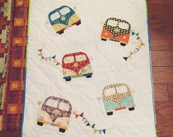 VW Bus Baby Quilt