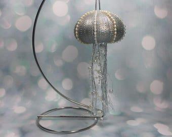 Jellyfish Sea Urchin Ornament
