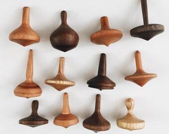 PRESALE - Woodturned Tops