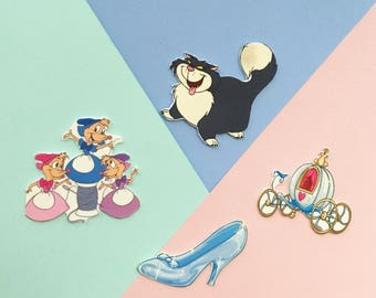 Set Of Cinderellas Collection Brooches/Pins