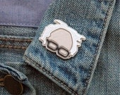 Bernie Sanders Pin | Bernie Sanders | Pin | Flair | Lapel Pin | Brooch | 3D Printed | Moms | Dads | Grads