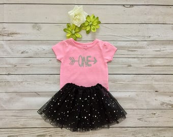 One Year old Girl Birthday outfit,Birthday girl outfit#Birthday girl One outfit with tutu skirt