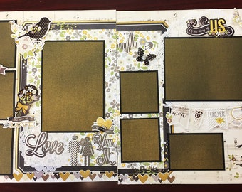 Love scrapbook pages 0601