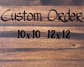 Custom Wood Signs, Custom Sign, Rustic Wood Sign, Rustic Sign, Wall Art