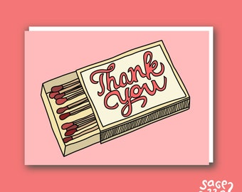 Thank You Cards of 5