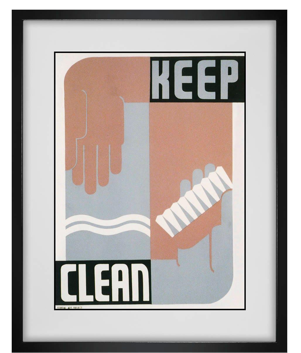 Bathroom Sign, Funny Bathroom Wall Art, Bathroom Art For Kids, Framed Wall  Art, Brush Your Teeth