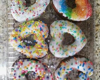 Rainbow hearts horse treats.