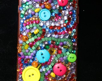 Colorful One of a kind, unique IPhone 6-Plus phone case
