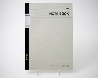 "Apica 6A10 basic notebook, 7"" x 10"", lined, 100 sheets"