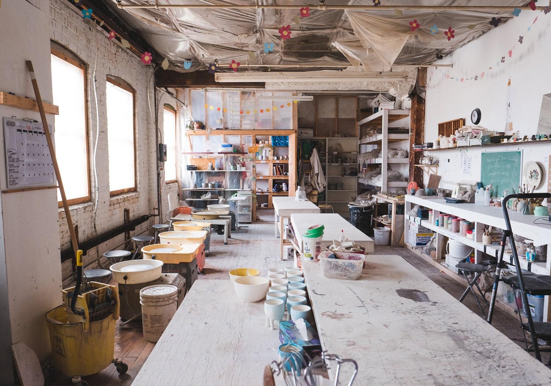 Beardbangs ceramics studio