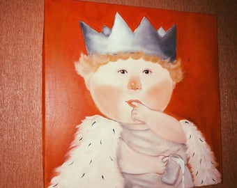 "the painting ""the Little King"""