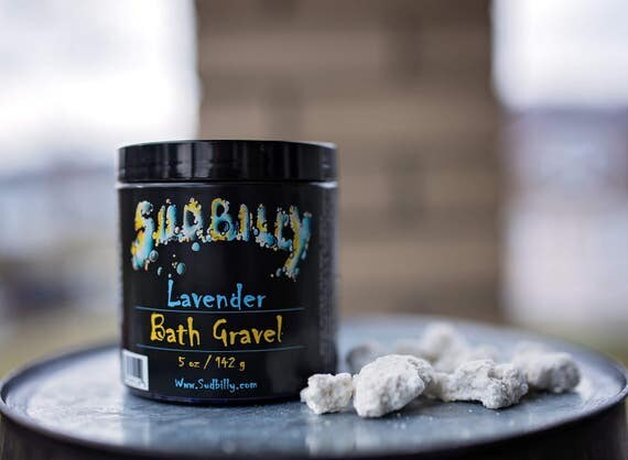 Lavender Bath Gravel, Lush, Bath melts, Bath bombs, Essential Oil #16492