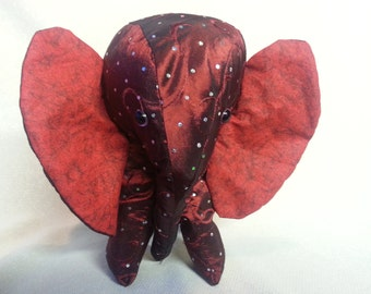Bejeweled Stuffed Elephant