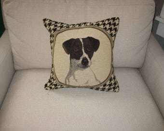 Decorative Jack Russell Dog Pillow