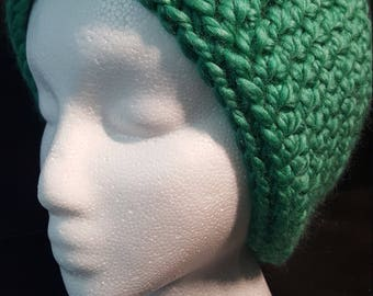 Teal Slouchy Hat