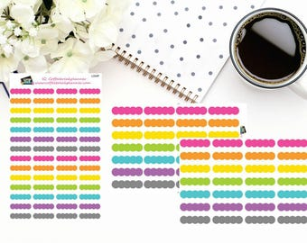 Planner Stickers | Bubble Stickers| Bubble Header Stickers|Bubble Reminder Stickers| For use in various planners |L004V L004P L004 HRLY