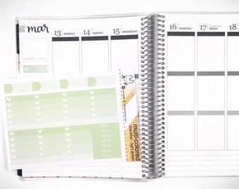 Light Green Ombre Heart Checklist! Perfect for the Erin Condren Life Planner!