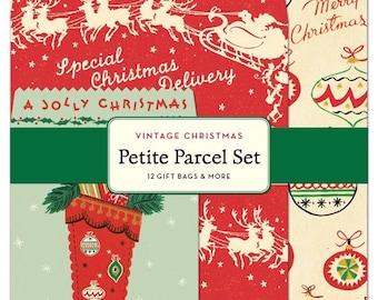 Cavallini Vintage Christmas Petite Parcel Set