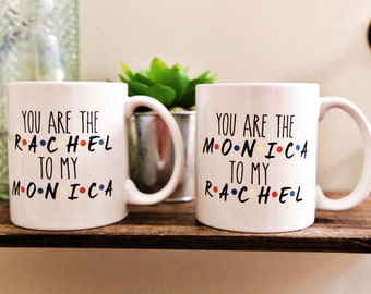FRIENDS RACHEL & MONICA Coffee Mug Set