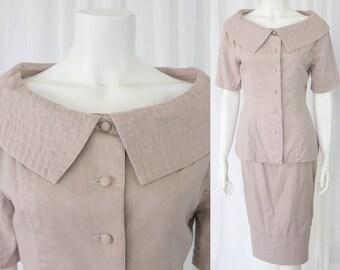 Incredible Vintage 40s 50s lady skirt suit sz 8/10 aus
