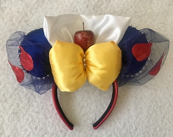 Snow White Ears - Princess Ears -  Disney Ears