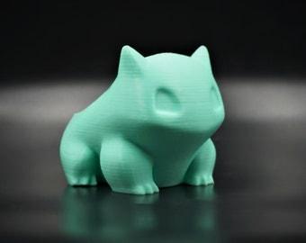 Bulbasaur Pokemon Planter 3D Printed