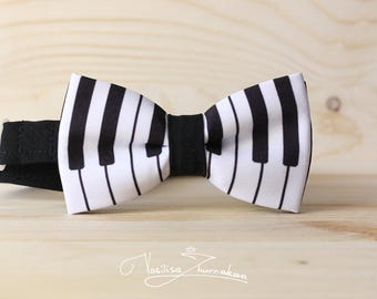 Bow Tie Piano, Bowtie pianist, Musical bow tie, Musician gift, Pianino bow ties, Creative bowties, Pianist gift, Music lover gift