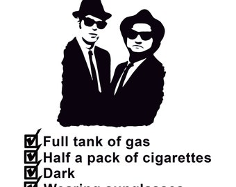 Blues Brothers SVG