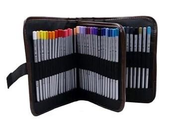 Pencil Case Pencil Holder Paint Brush Holder Makeup Wallet Canvas Wallet