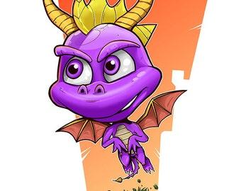 Spyro print