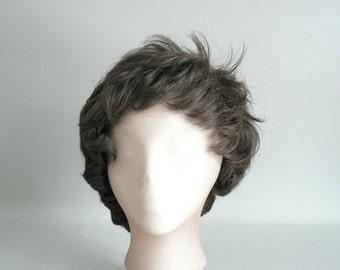Womens Brown Costume Wig