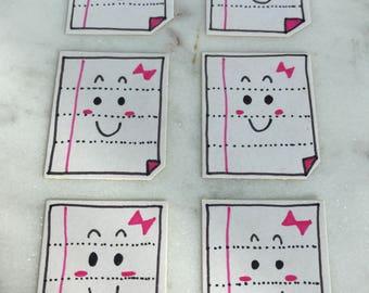 Planner Stickers Book Kawaii