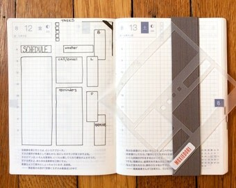 Basic Boxes for Hobonichi Techno 4mm Grid