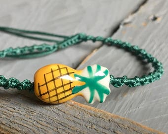 "Bracelet link ""Pineapple"""