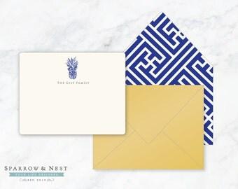 Pineapple Personalized Correspondence Set