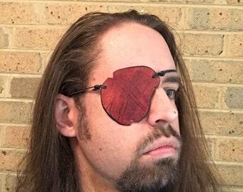 Battle-Damaged Leather Eyepatch