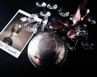 Small metal ashtray