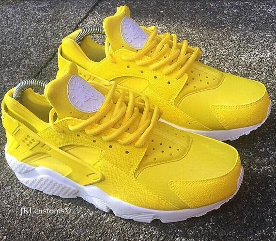 sports shoes b093a 40cbc lemon adults nike air huarache lemon huarache nike huarache yellow unisex lemon  huarache ...