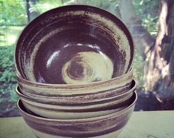 Chocolate Swirl Bowl