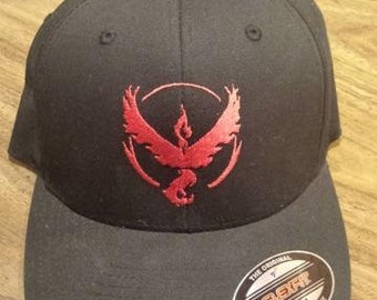 Pokemon GO Team Valor Hat