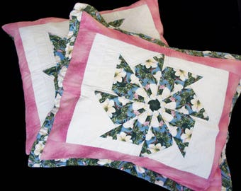 Stack and Wack Coordinated Pair of Pillow Shams covers